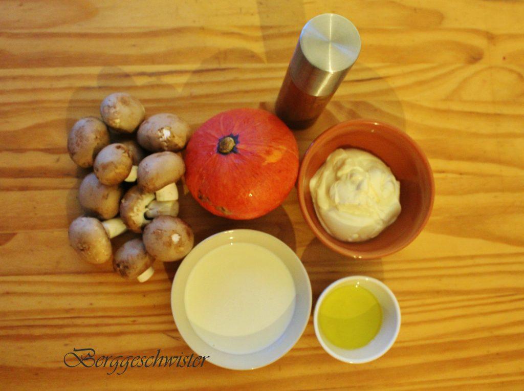 Rezepte kurbis champignons