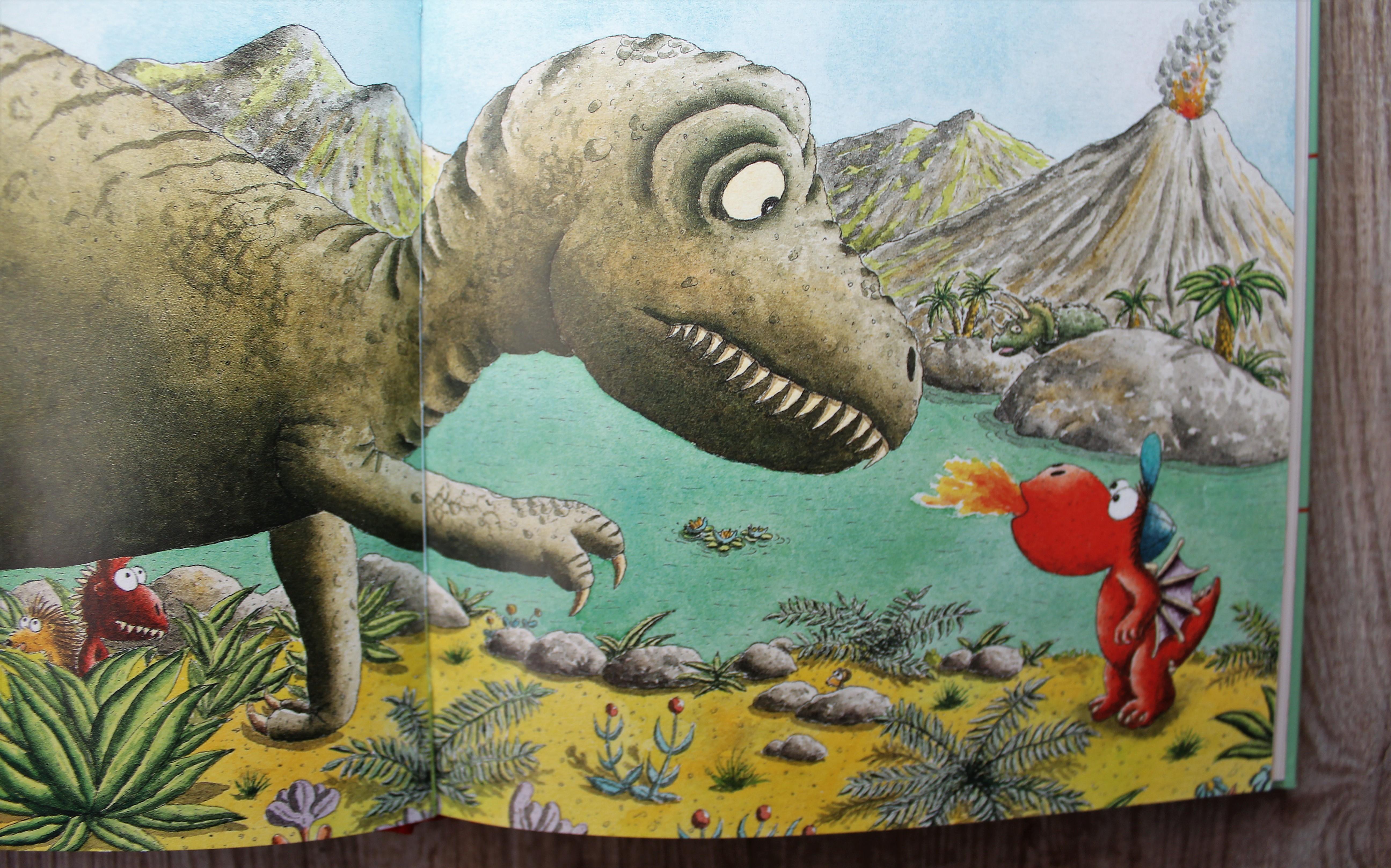 Der Kleine Drache Kokosnuss Bei Den Dinosauriern Kinderbuch