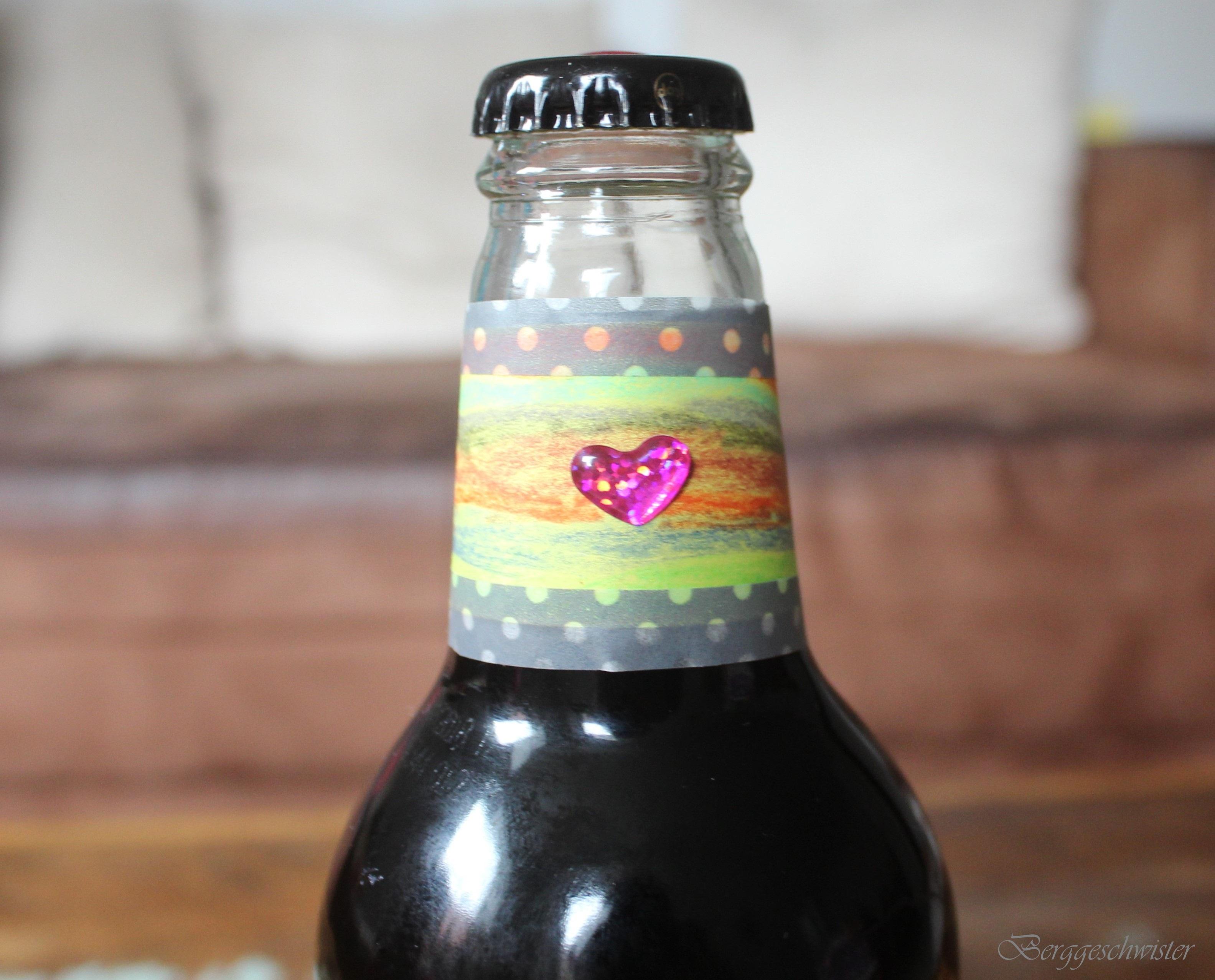 Diy I Selbstgestaltete Flaschen Für Den Vatertag