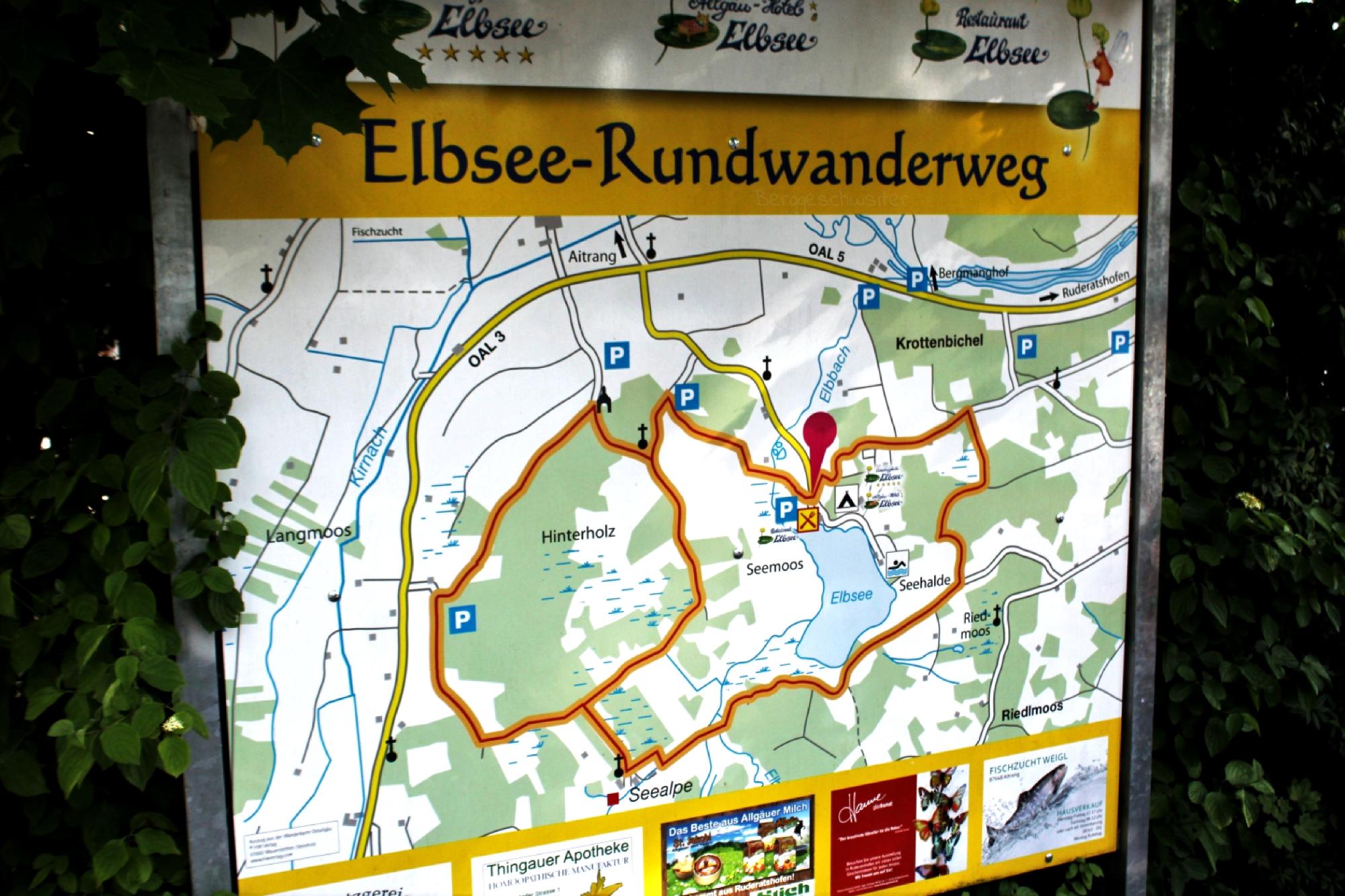 Unterwegs Mit Kindern Der Elbsee Rundwanderweg Bei Aitrang Allau