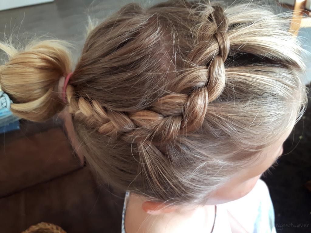 Zopf Flechten Lange Haare Pony Weg Flechten Berggeschwister