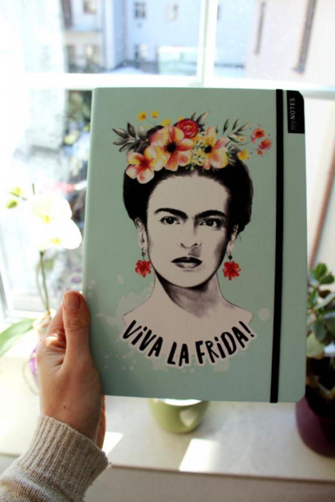 myNotes Viva La Frida! von arsEdition Notizbuch mit Frida Kahlo drauf
