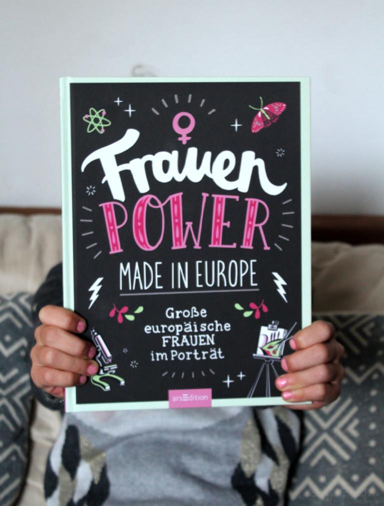 Frauenpower made in Europe Große europäische Frauen im Porträt von arsEdition Verlag Buch über berühmte und bekannte Frauen und ihre Taten