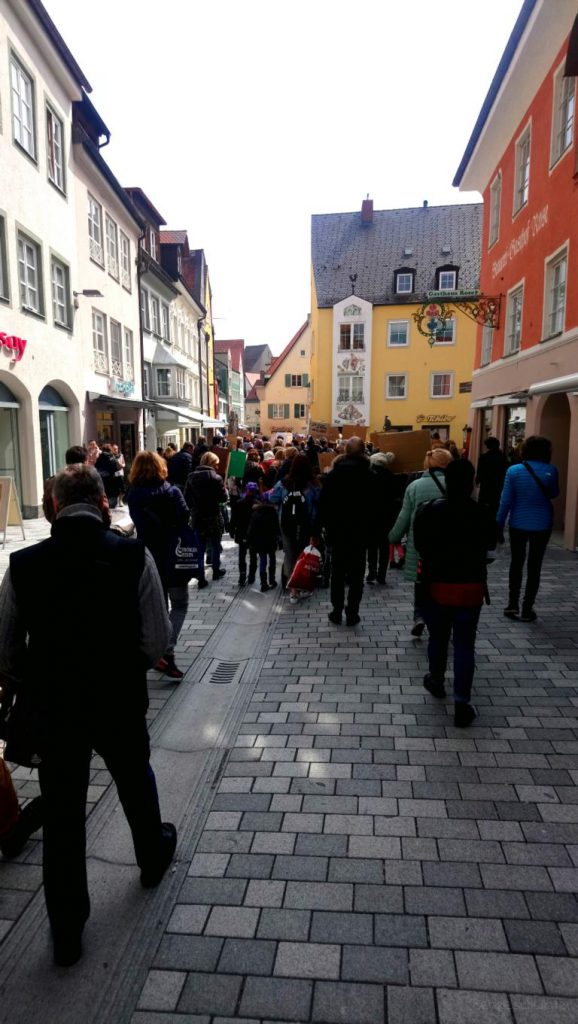 Friday for Futur in Kder Kaufbeurer Innenstadt