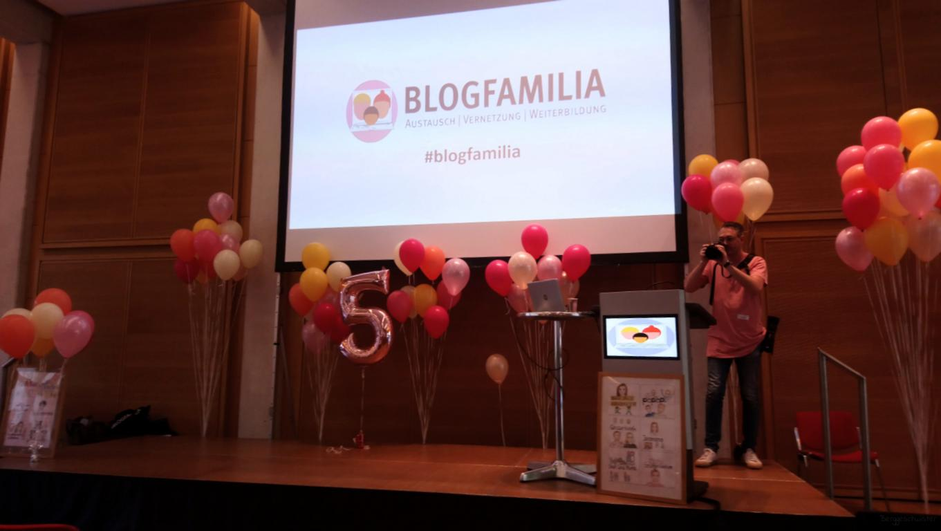 Bühne der Blogfamilie 2019 in Berlin