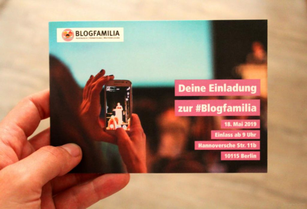 Einladung zur Blogfamilia