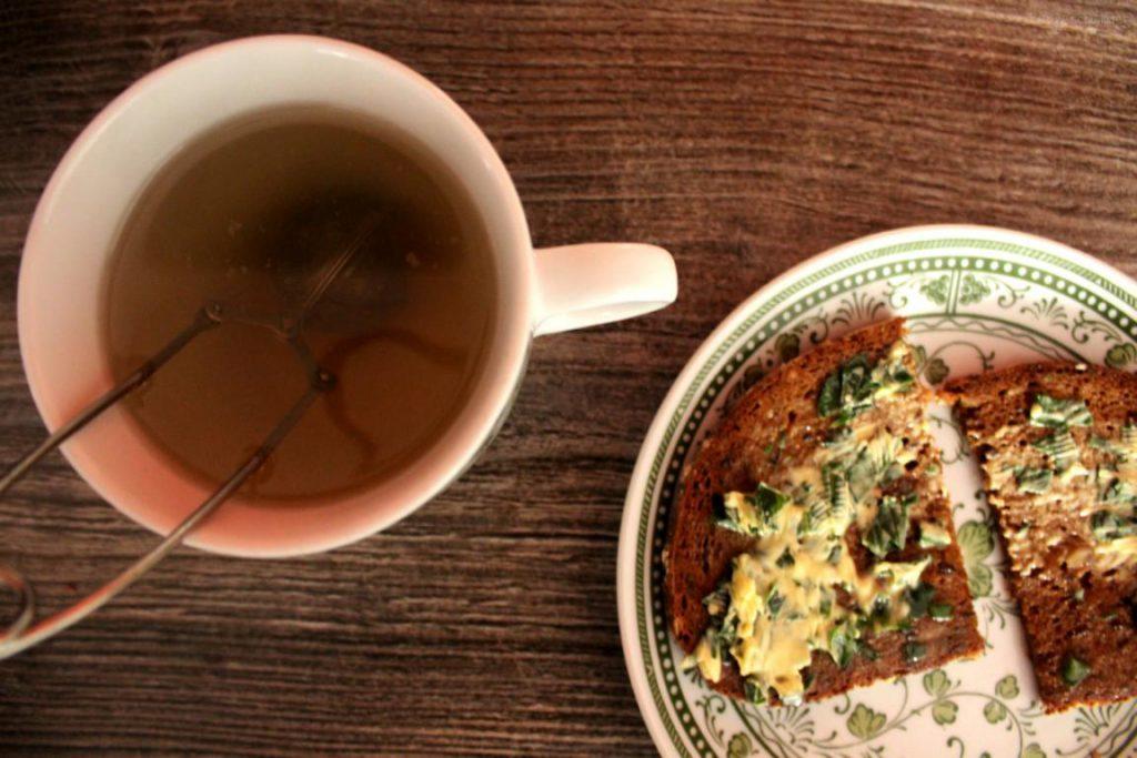 Tee und Brot
