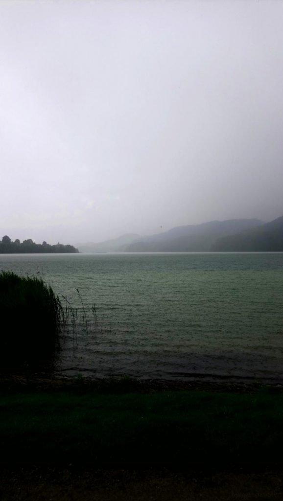 Der Weissensee bei Gewitter