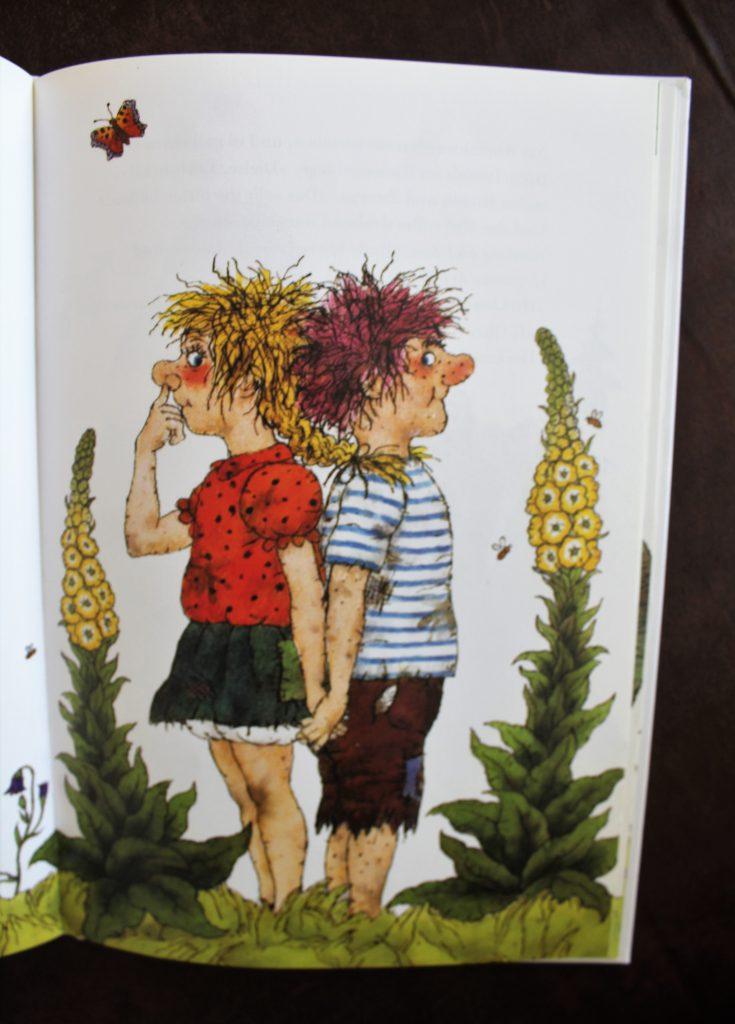 Riesling und Zwerglinde aus dem gleichnamigen Kinderbuch
