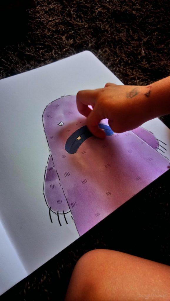 Kitzelmonster aus Schüttel den Apfelbaum - Ein Mitmachbuch