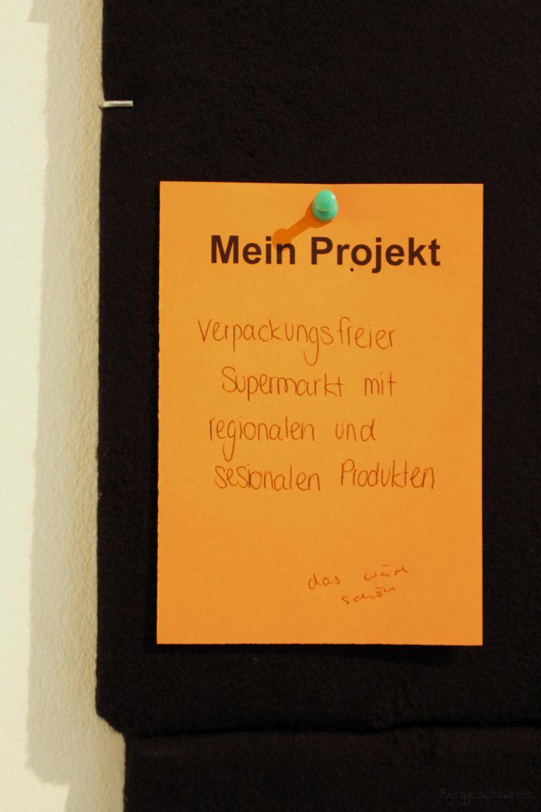 Mein Projekt Verpackungsfreier Supermarkt im Stadtmuseum Kaufbeuren