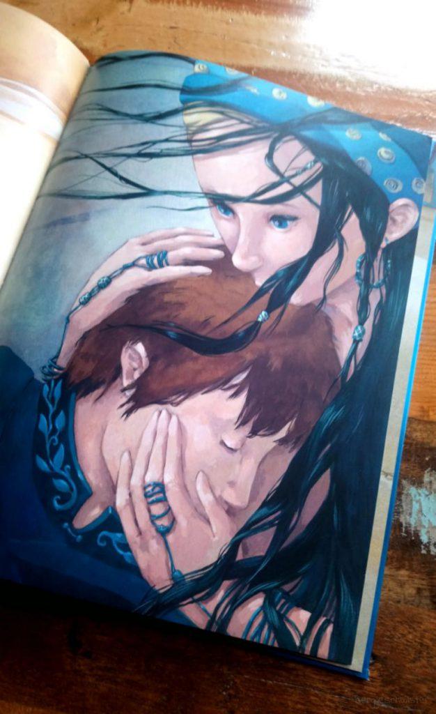 Seite aus: Die kleine Meerjungfrau von Hans Christian Andersen