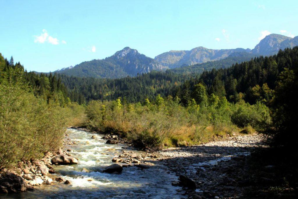 Halblech in den Ammergauer Alpen
