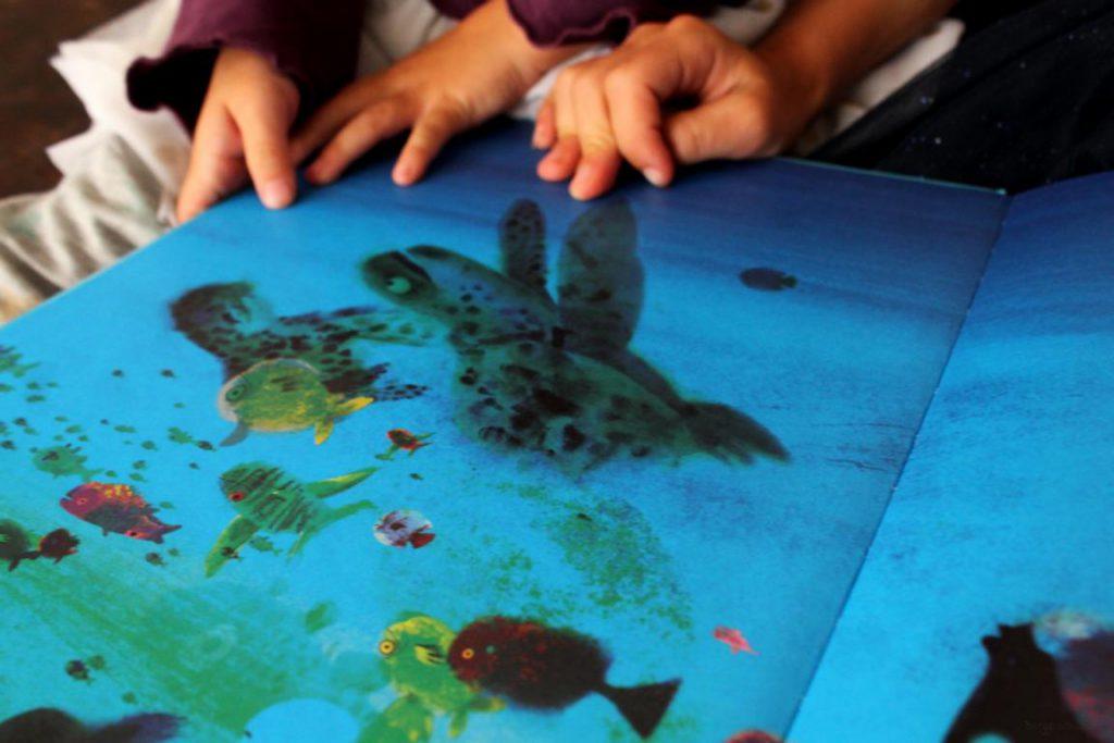 Schildkröte aus Ich bin eine Insel von Mark Janssen