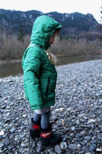Lechfälle Füssen Winterjacke Ducksday 4 Jahre