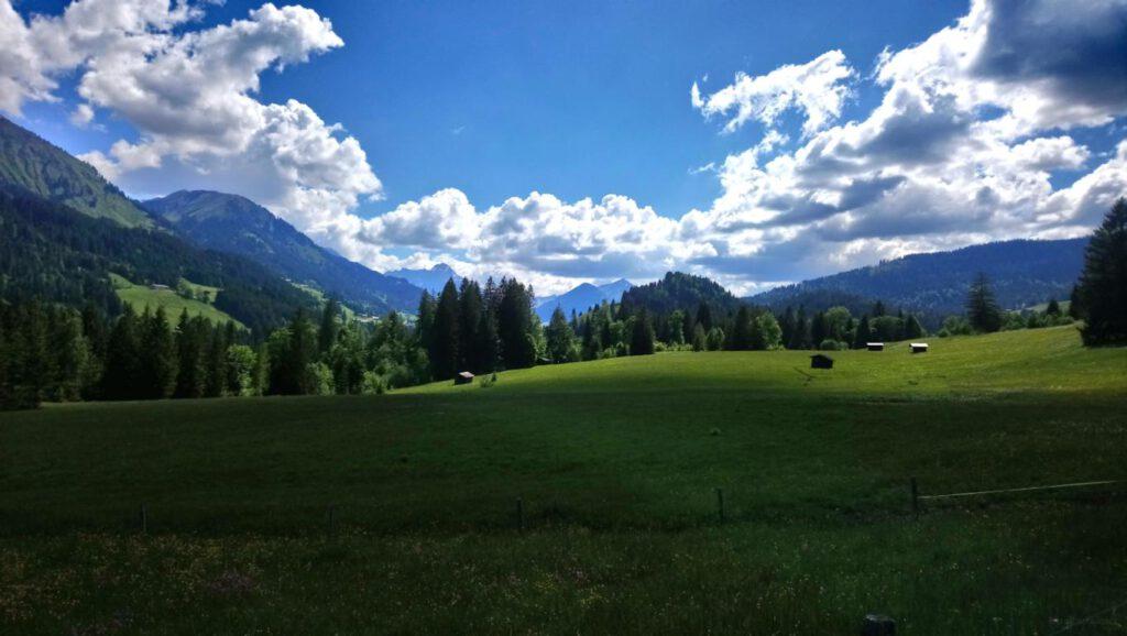 Breitachklamm Schlucht Breitach Fluss Allgäuer Alpen Allgäu