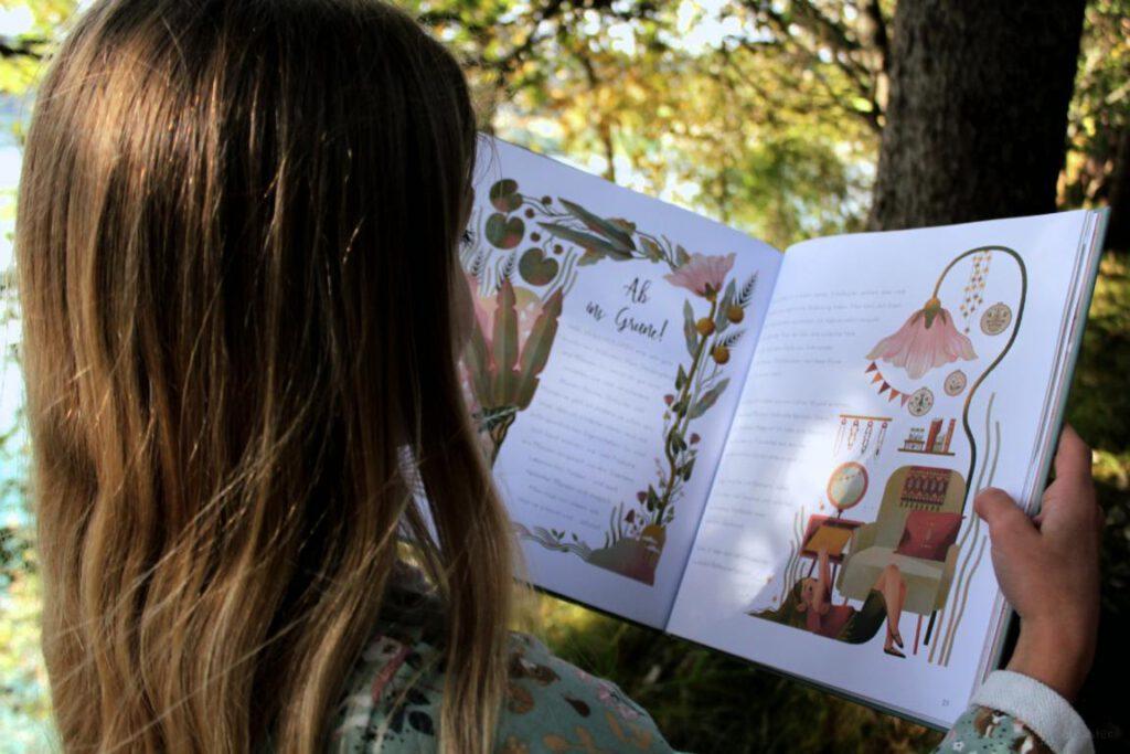 Seite aus dem Buch Die Zauberhafte Welt der Feen