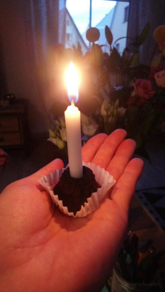 Kerze zum Geburtstag