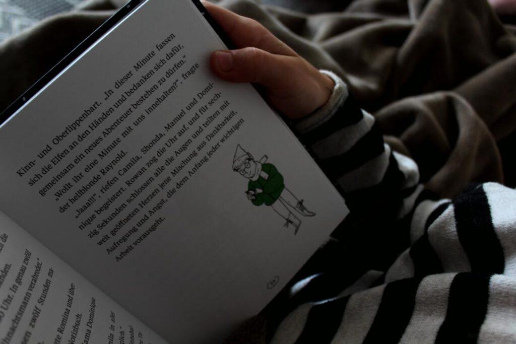 Seite aus das Wunder von R Kinderbuch