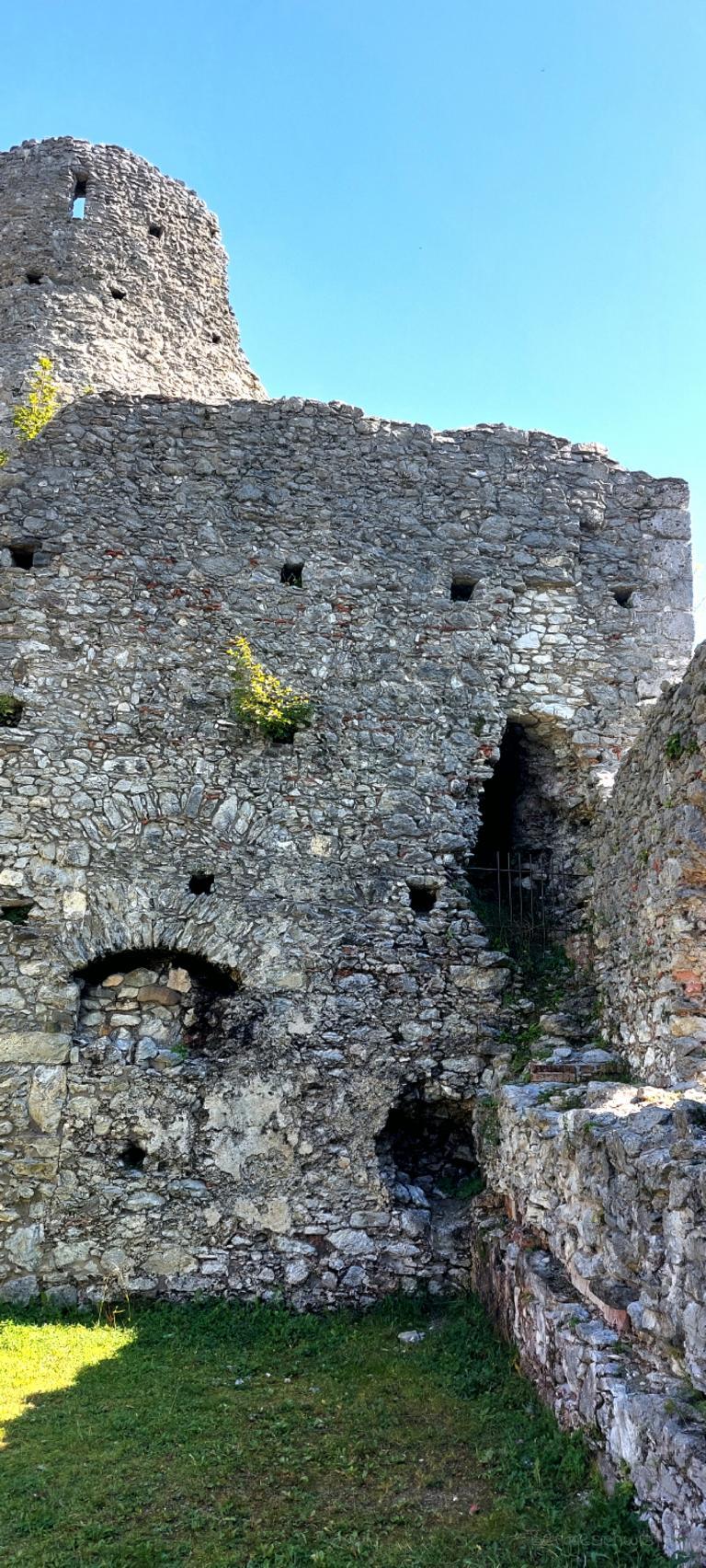 Burgruine Hohenfreyberg Wandern mit Kindern im Allgäu Ruine